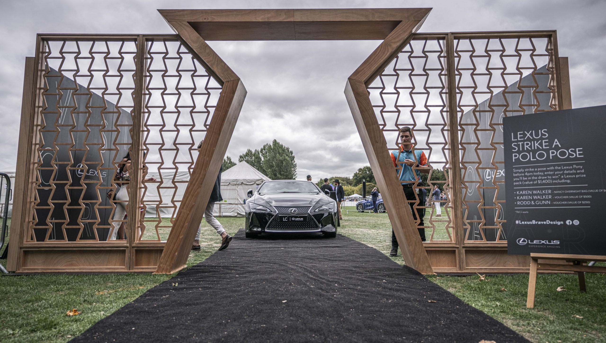 Lexus at the Polo